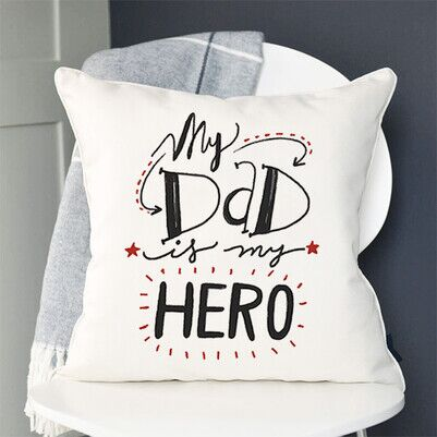 My Dad Is My Hero Yastık - Thumbnail