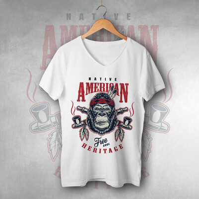 - Native American Unisex Tişört