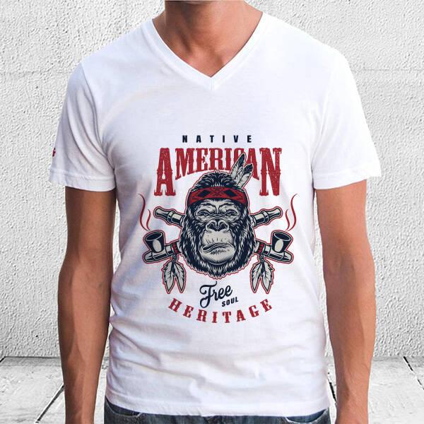 Native American Unisex Tişört