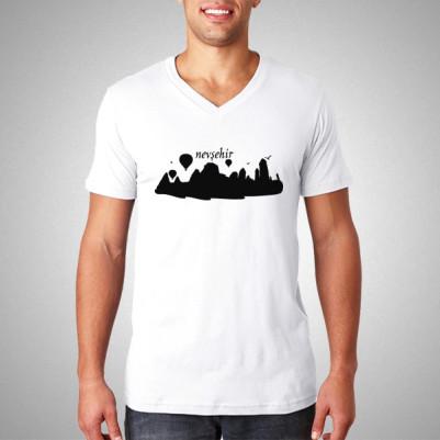 - Nevşehir Baskılı Tişört Erkeklere Özel