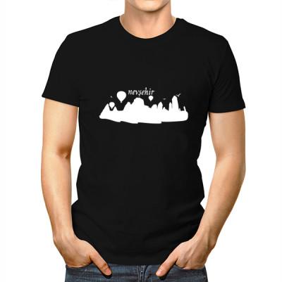 Nevşehir Baskılı Tişört Erkeklere Özel - Thumbnail