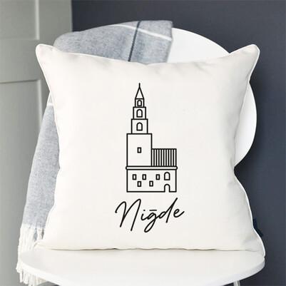 - Niğde Tasarımlı Yastık