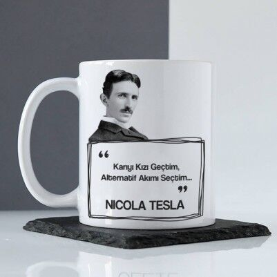 - Nikola Tesla Esprili Kupa Bardak