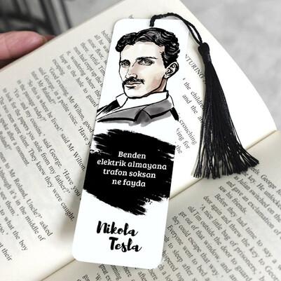 - Nikola Tesla Kitap Ayracı