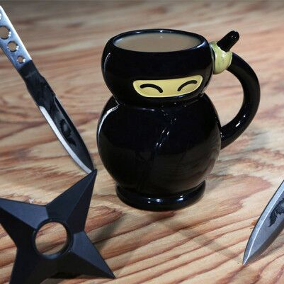 Ninja Şeklinde Kupa Bardak - Thumbnail