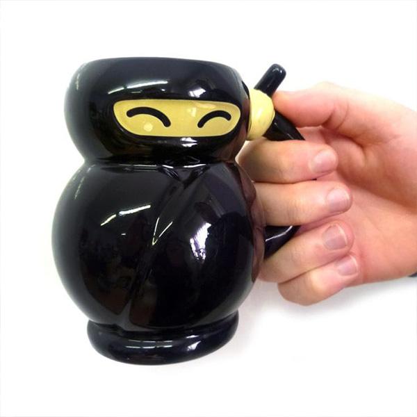 Ninja Şeklinde Kupa Bardak