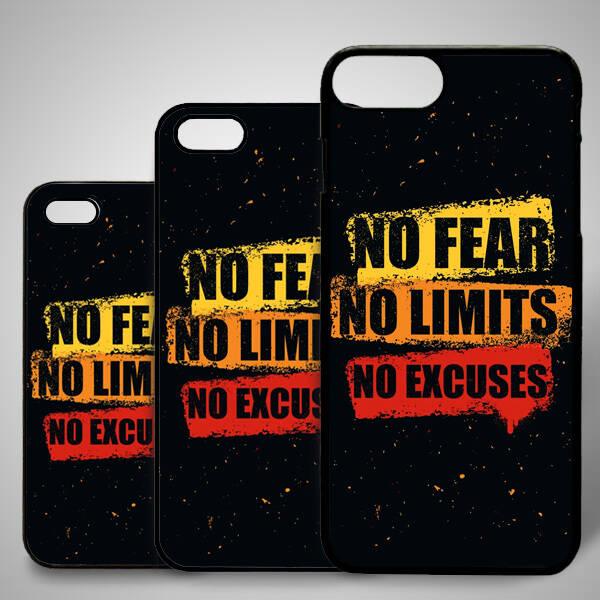 No Fear iPhone Telefon Kapağı