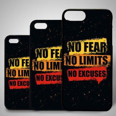- No Fear iPhone Telefon Kapağı