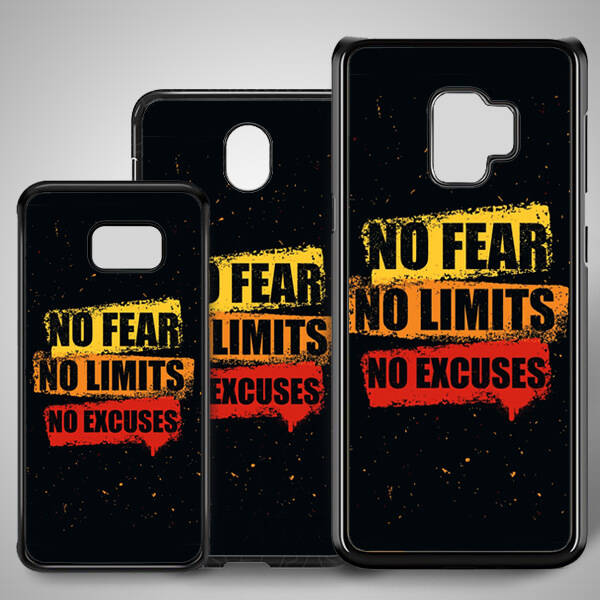 No Fear Samsung Telefon Kapağı