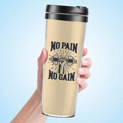 - No Pain No Gain Termos Bardak