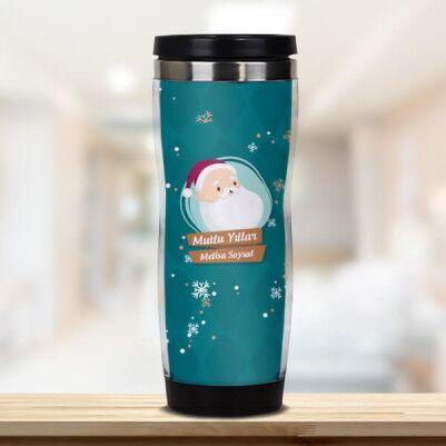 - Noel Baba Figürlü Şirin Termos Bardak