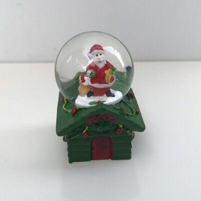 Noel Baba Objeli Mini Kar Küreleri - Thumbnail