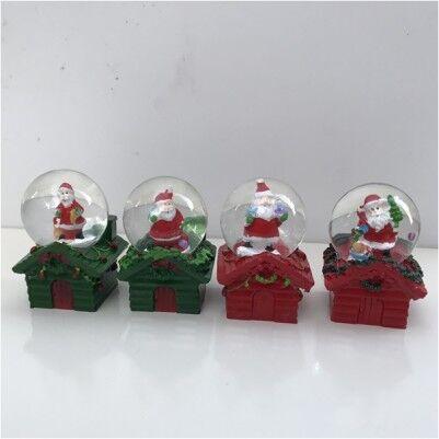 - Noel Baba Objeli Mini Kar Küreleri