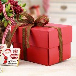 Noel Baba Temalı Yılbaşı Çikolatası - Thumbnail
