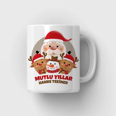 - Noel Baba ve Arkadaşları Kupa Bardak