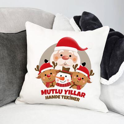 - Noel Baba ve Arkadaşları Yastık
