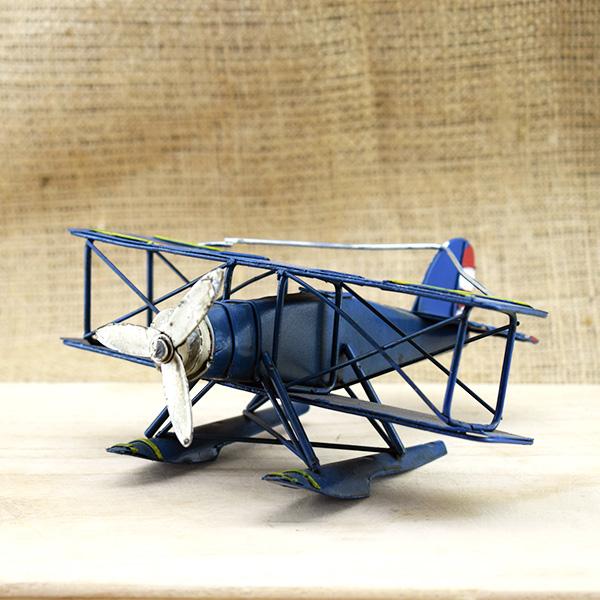 Nostaljik Metal Uçak Maketi