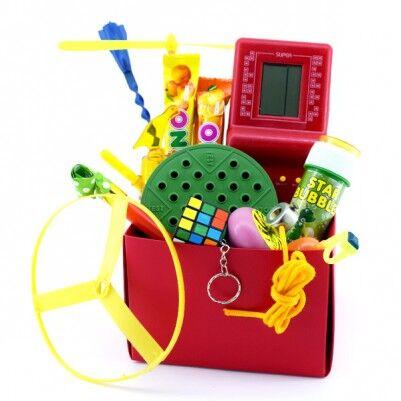Nostaljik Oyuncaklar Hediye Sepeti - Thumbnail