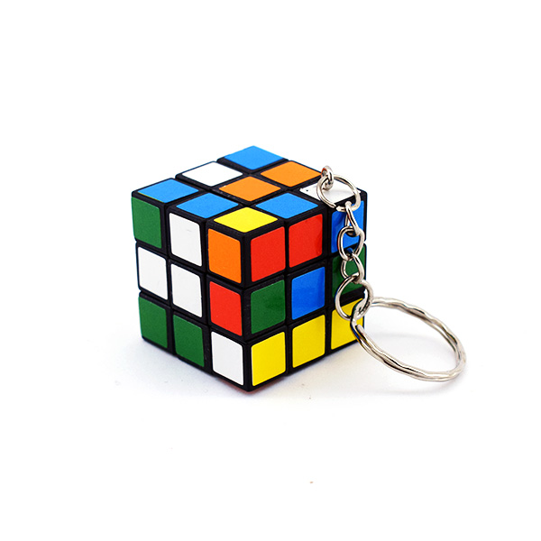 Nostaljik Rubik Küp Anahtarlık