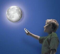Odamdaki Ay Kumandalı Gece Lambası - Thumbnail