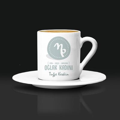 - Oğlak Burcu Kadınına Hediye Kahve Fincanı