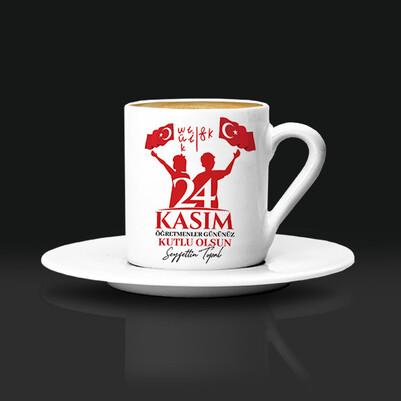 - Öğretmen Kahve Fincanı 24 Kasım'a Özel