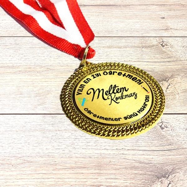 Öğretmene Hediye Madalyon