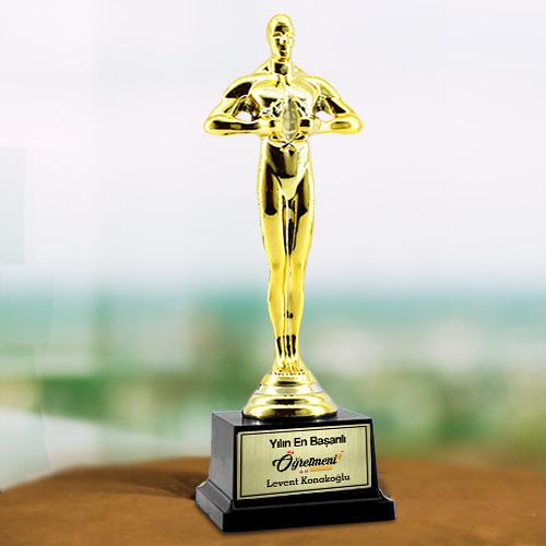 Öğretmeninize Özel Hediye Oscar Ödülü