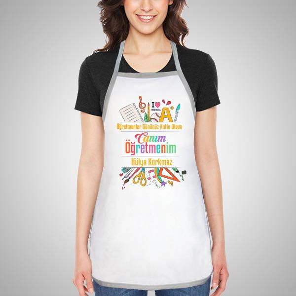 Öğretmeninize Özel Mutfak Önlüğü