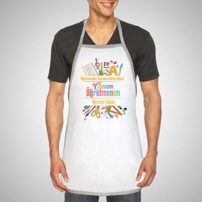 Öğretmeninize Özel Mutfak Önlüğü - Thumbnail