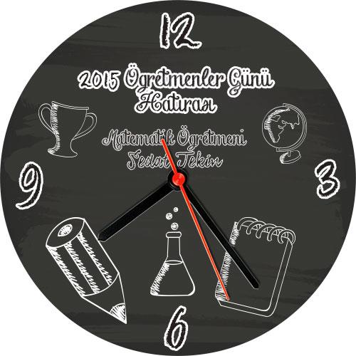 Öğretmenler Günü Hatırası Duvar Saati