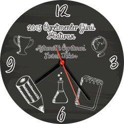 - Öğretmenler Günü Hatırası Duvar Saati
