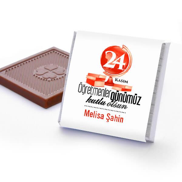 Öğretmenler Günü Temalı Çikolata Kutusu