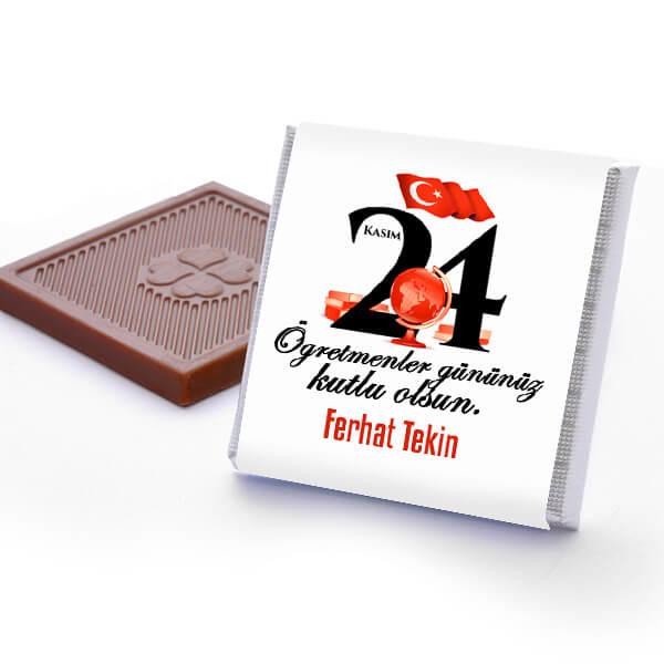 Öğretmenler Gününe Özel Çikolata Kutusu
