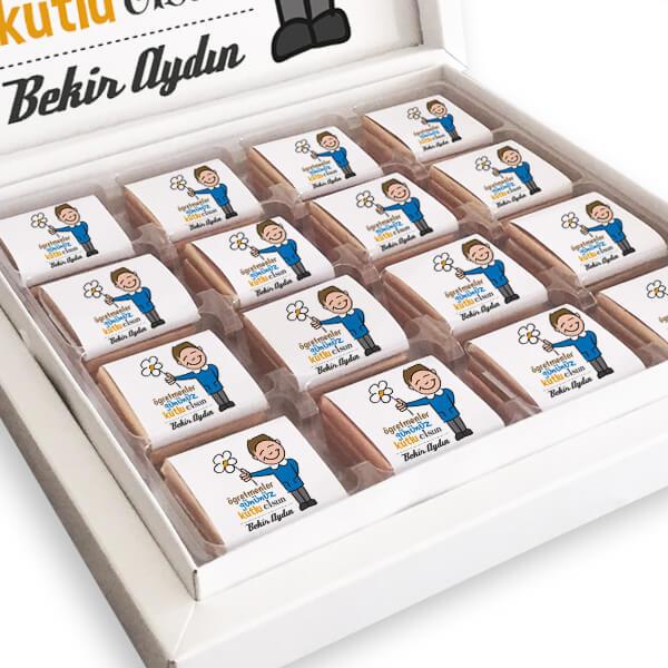 Öğretmenler Gününüz Kutlu Olsun Çikolata Kutusu