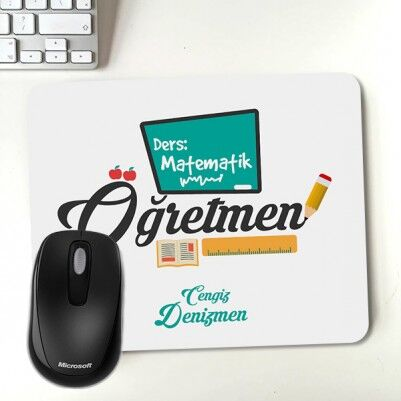 - Öğretmenler için Hediyelik Mousepad