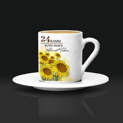 - Öğretmenler İçin Tasarım Kahve Fincanı