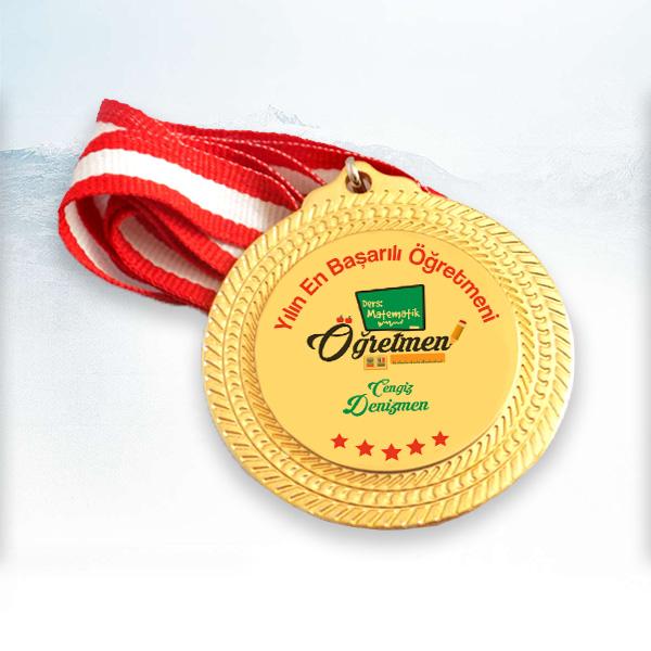 Öğretmenlere Hediye Madalyon