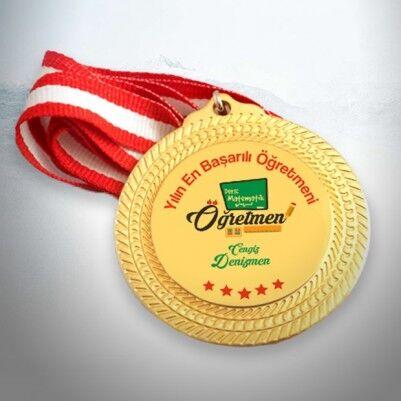 - Öğretmenlere Hediye Madalyon
