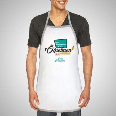 Öğretmenlere Hediye Mutfak Önlüğü - Thumbnail