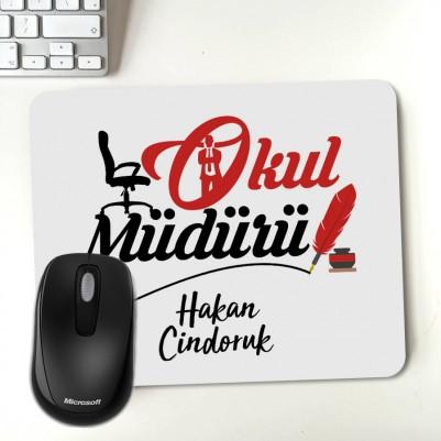 - Okul Müdürüne Hediyelik Mousepad