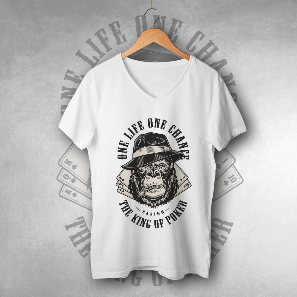 One Life One Chance Tasarımlı Tişört
