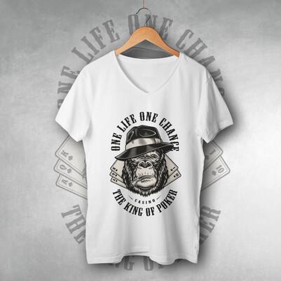 - One Life One Chance Tasarımlı Tişört