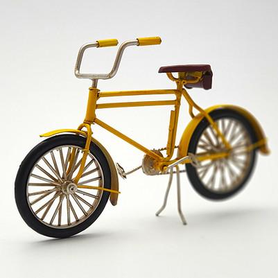 - Orijinal Metal Bisiklet Siyah