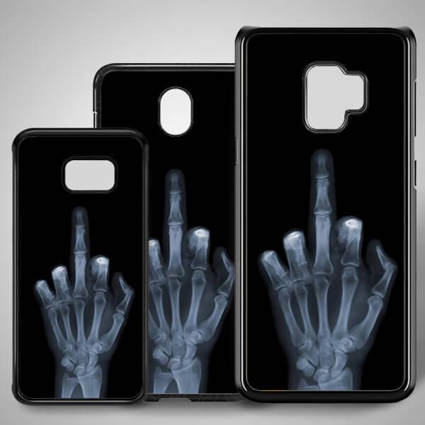 Orta Parmak Samsung Telefon Kapağı