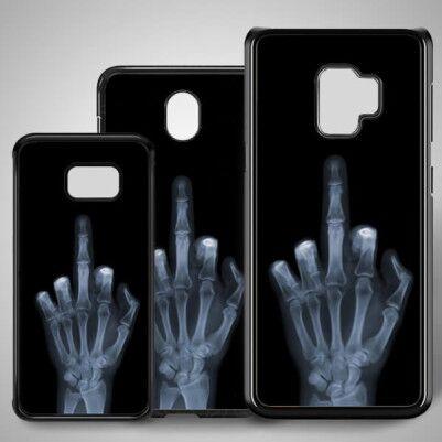 - Orta Parmak Samsung Telefon Kapağı