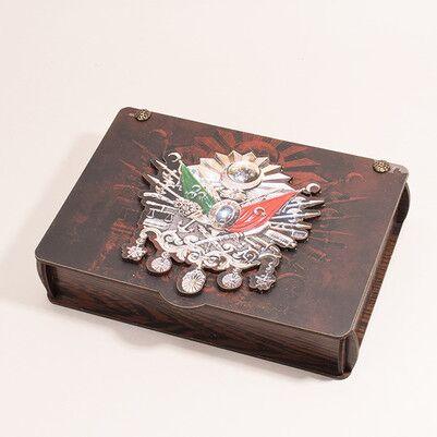 Osmanlı Arması Erkek Hediye Seti - Thumbnail