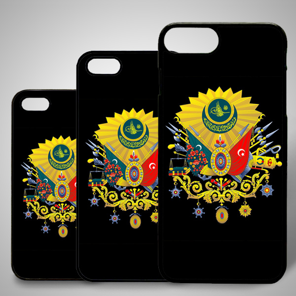 Osmanlı Arması Temalı iPhone Telefon Kapağı