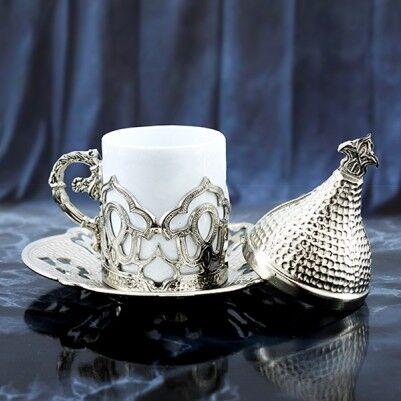 - Osmanlı Motifli Otantik Kahve Fincanı