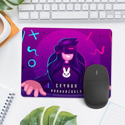 Oyun Tutkunlarına Özel İsimli Mousepad - Thumbnail